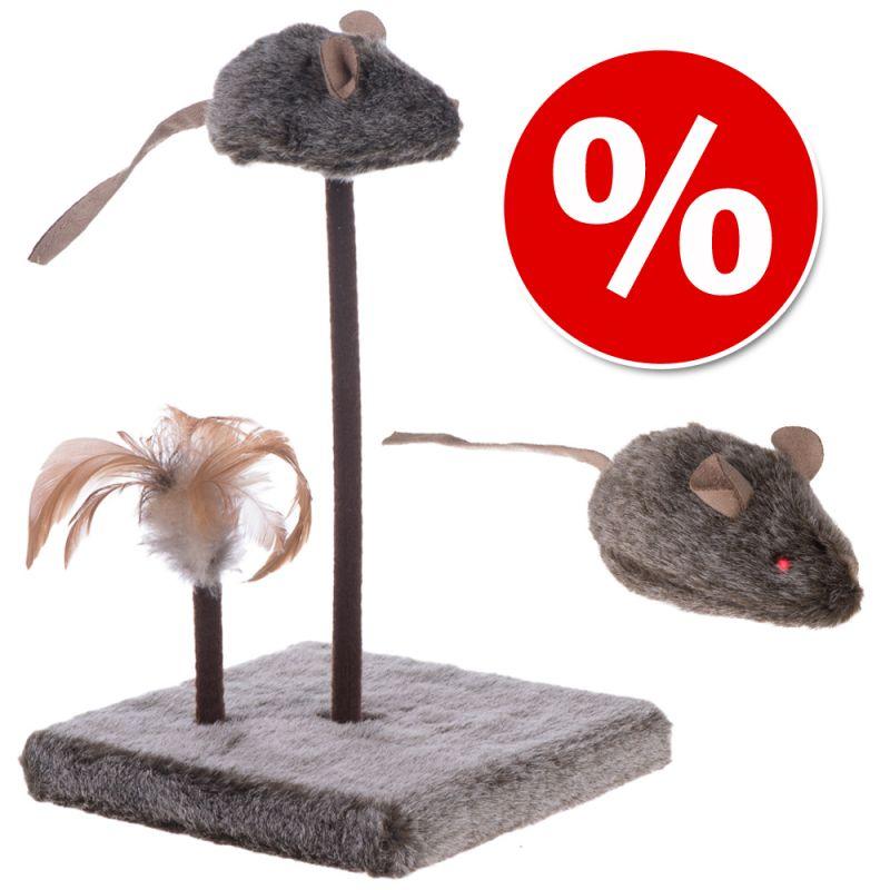 Lelusetti: Wild Mouse äänellä ja LED-valolla