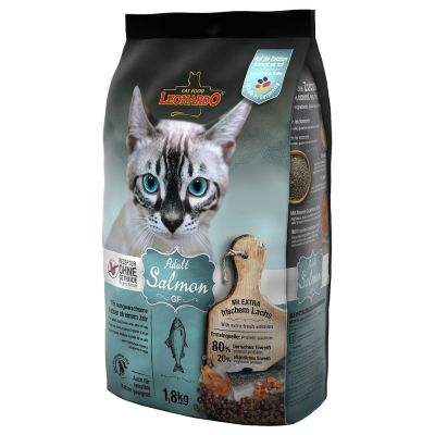 Leonardo Adult Grainfree, saumon pour chat