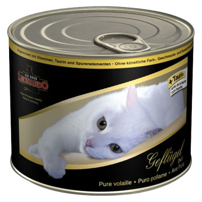 Leonardo All Meat Kattenvoer 6 x 200 g
