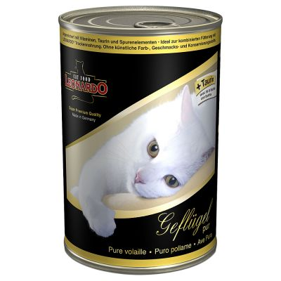Leonardo All Meat Kattenvoer 6 x 400 g