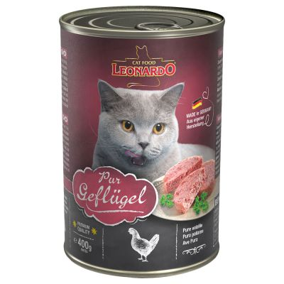 Leonardo All Meat 6 x 400 g pour chat