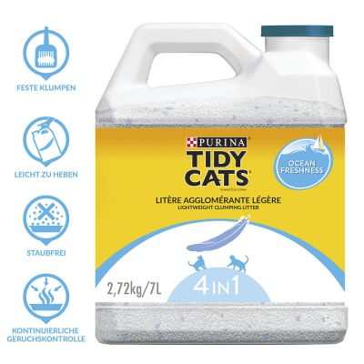 Lettiera agglomerante Purina Tidy Cats Lightweight Ocean Freshness