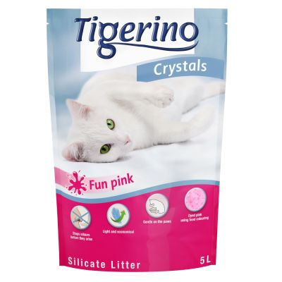 Lettiera colorata Tigerino Crystals Fun