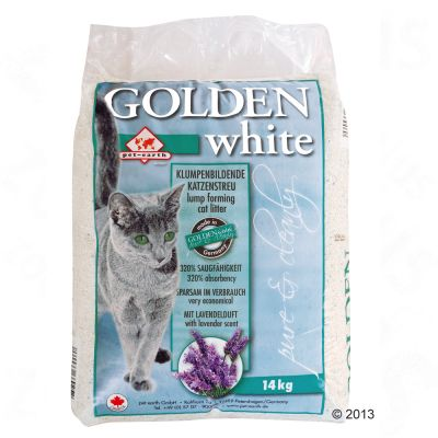 Lettiera Golden White