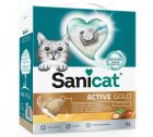 Lettiera Sanicat Active Gold