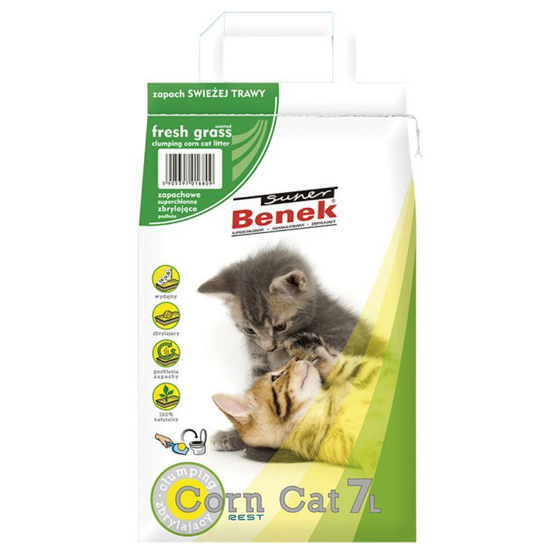 Lettiera Super Benek Corn Cat Erba Fresca