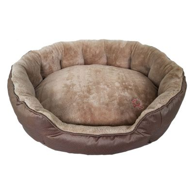 Letto per cani ThermoSwitch® Memory-Foam Santorini marrone-moca