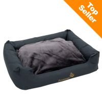 Letto per gatti Sleepy Time Grey con cuscino