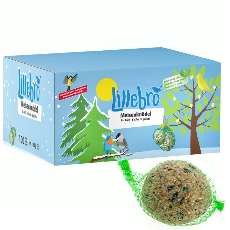 Lillebro Fat Balls Wild Bird Food Saver Pack