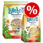 Lillebro Skallefrit-Mix: Vildtfuglefoder + Jordnøddekerner