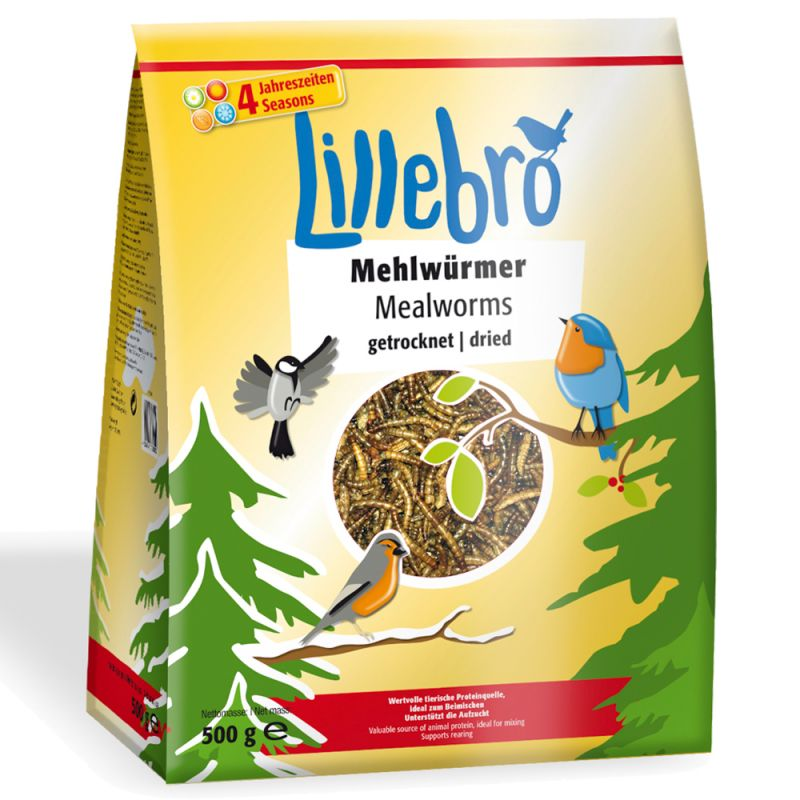 Lillebro-jauhomadot, kuivattu