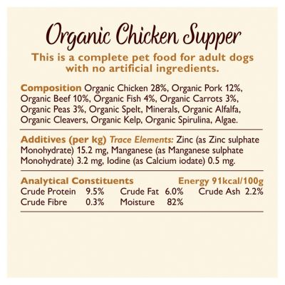Lily's Kitchen Organic Chicken Supper