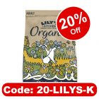 Lily's Kitchen Organic Chicken & Vegetable Bake Adult Dry Dog Food