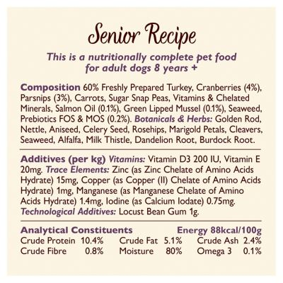 Lily's Kitchen Senior Recipe