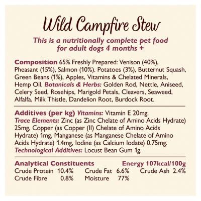 Lily's Kitchen Wild Campfire Stew