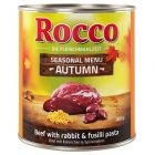 Limited Edition: Rocco Menù Autunnale