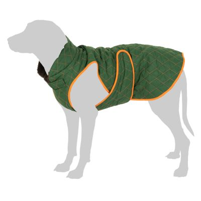 Limited Check Pattern Dog Coat