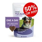Lintbells YuCALM One-a-Day Chewies Dog Supplement