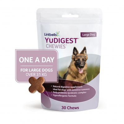 Lintbells YuDIGEST One-a-Day Chewies Dog Supplement