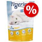 27 + 3 liter på köpet! 30 l Tigerino Crystals kattströ