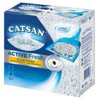 Litière agglomérante Catsan Active Fresh pour chat