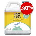Litière agglomérante PURINA Tidy Cats Lightweight  : 30 % de remise !