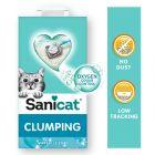 Litière agglomérante Sanicat savon de Marseille pour chat