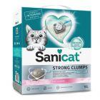 Litière agglomérante Sanicat Strong Clumps pour chat