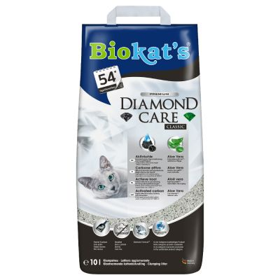 Litière Biokat's Diamond Care Classic pour chat
