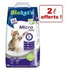 Litière Biokat's Micro 12 L + 2 L offerts !