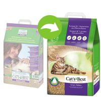 Litière Cat's Best Nature Gold / Smart Pellets pour chat