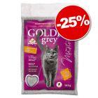 Litière Golden Grey 14 kg : 25 % de remise !