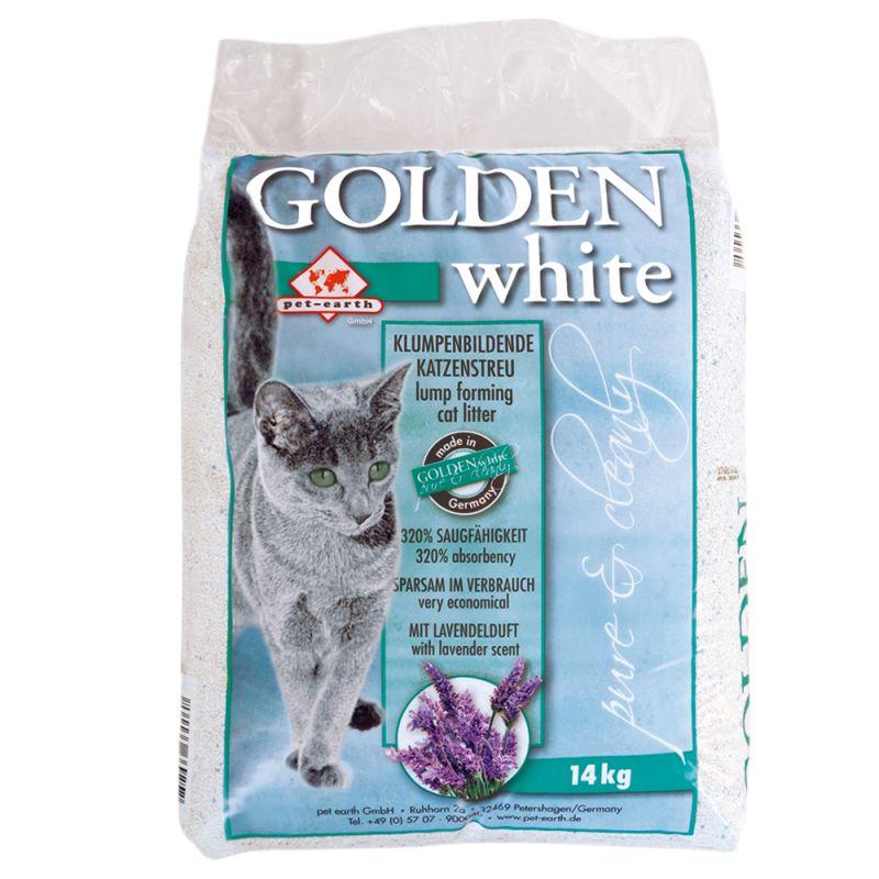 Litière Golden White pour chat