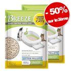 Litière ou alèses PURINA Tidy Cats Breeze : 50 % de remise sur 2ème !