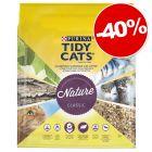 Litière PURINA Tidy Cats Nature Classic pour chat : 40% de remise !