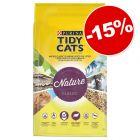 Litière PURINA Tidy Cats Nature Classic pour chat 30 L : 15 % de remise !