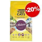 Litière PURINA Tidy Cats Nature Classic pour chat 30 L : 20 % de remise !