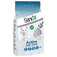 Litière Sanicat Active Less Track pour chat