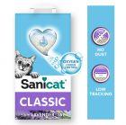 Litière Sanicat Classic lavande pour chat