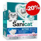 Litière Sanicat 6 L pour chat : 20 % de remise !