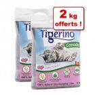 Litière Tigerino Canada : 22 + 2 kg offerts !