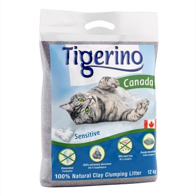 Litière Tigerino Canada Sensitive pour chat