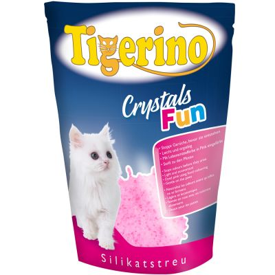 Litière Tigerino Crystals Fun pour chat