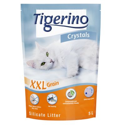 Litière Tigerino Crystals XXL pour chat