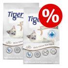 Litière Tigerino Special Care pour chat 2 x 12 l à prix spécial !