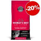Litière World's Best Cat Litter : 20 % de remise !