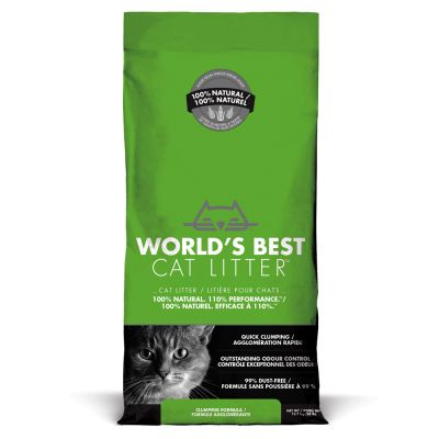 Litière World's Best Cat Litter pour chat