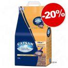 Litières Catsan pour chat : 20 % de remise !