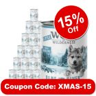 Little Wolf of Wilderness Saver Pack 24 x 400g