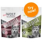 Little Wolf of Wilderness Wild Bites Junior Dog Snacks Mixed Pack